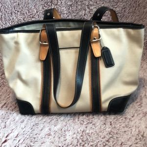 Coach Zippered Shoulder Bag